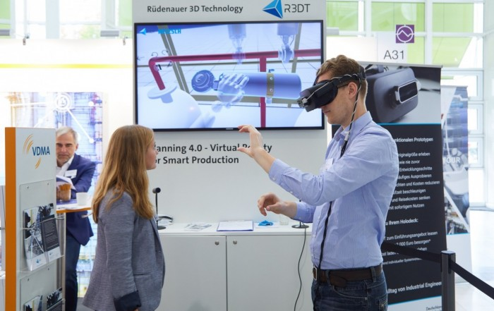 R3DT Virtual Reality-Tool auf der Messe IFFA